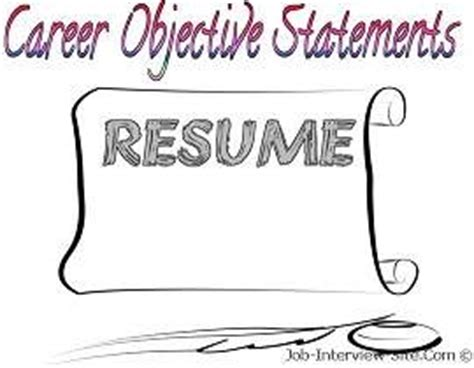 Resume objective statement examples - College News