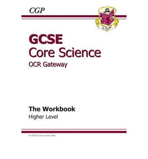 OCR Gateway Science GCSE Physics Homework Pack New 2018